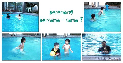 Belajar berenang sedari dini mampu melatih sejumlah kemampuan anak-anak muncul lebih cepat, sehingga...